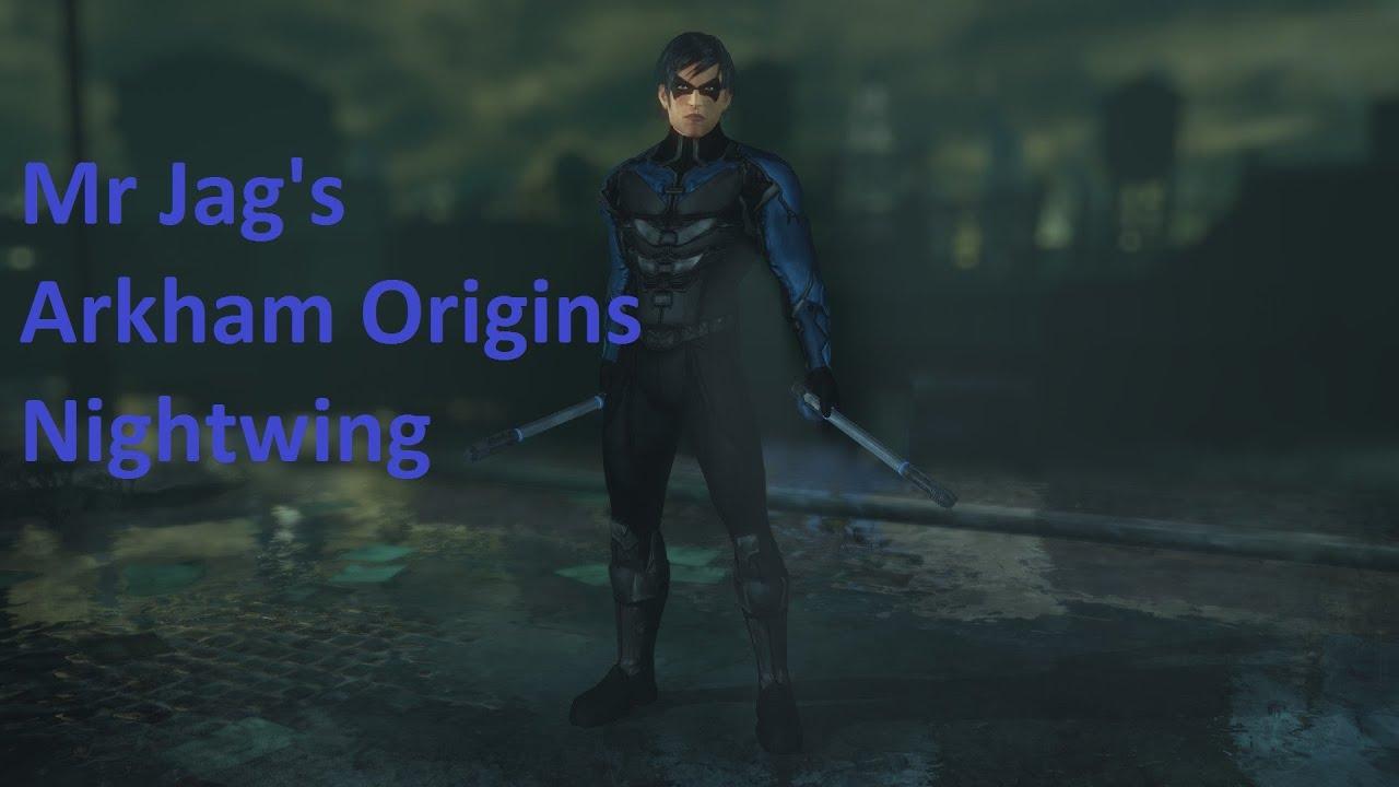 batman arkham city arkham origins nightwing youtube