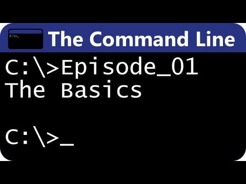 The Command Line Ep01: The Basics
