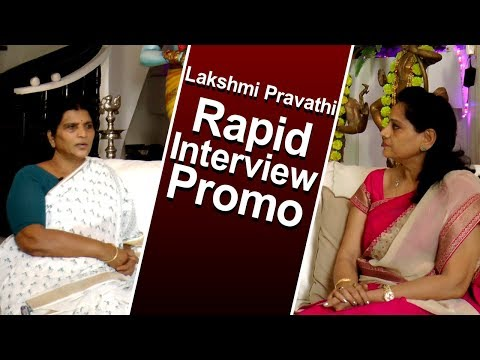 Late NTR Wife/YCP Leader Lakshmi Parvathi  Exclusive Interview - Promo | Indiontvnews