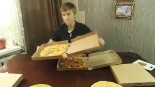 Обзор доставки пиццы с Mia Pizza(, 2015-09-06T14:25:32.000Z)