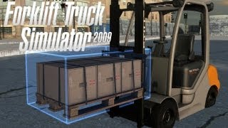 Forklift Truck Simulator 2009 Gameplay PC HD