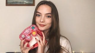 ASMR Nintendo Console Sounds & Rambling About Video Games ðŸ...