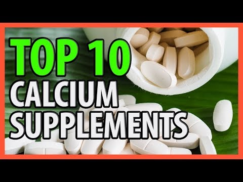⭐️✔️ 10 Best Calcium Supplements 2018 👍🏻⭐️