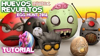 How to get 7 Amazing and Easy Eggs in ROBLOX EGG HUNT 2018 Tutorial Samymoro