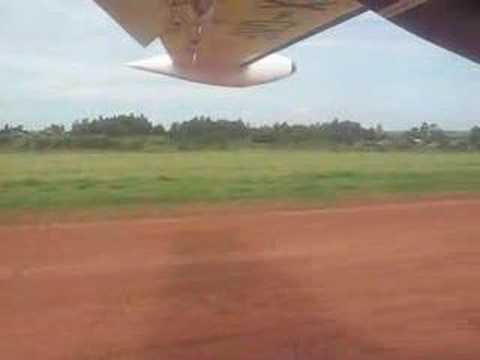 Landing in Arua (Uganda)