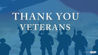 Sen. MacDonald: Thank You Veterans