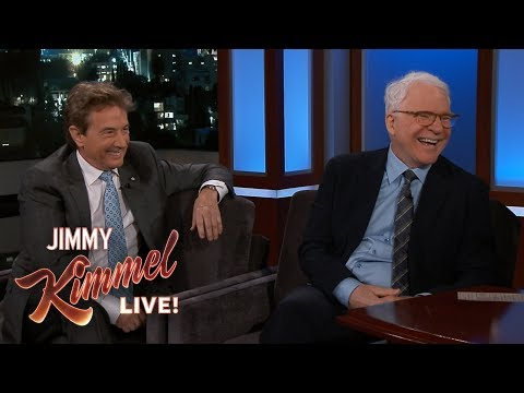 Steve Martin & Martin Short Bailed on Jimmy Kimmel's Party