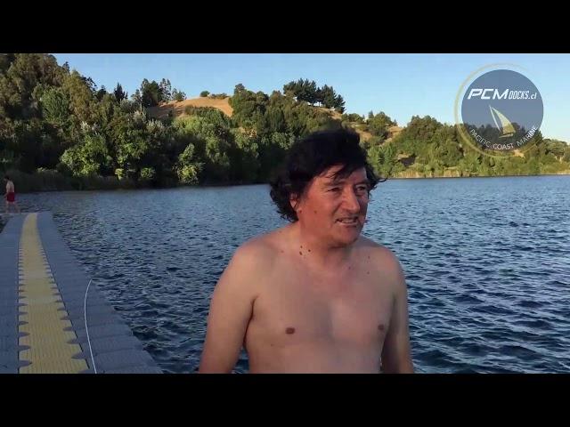 El testimonio de Gustavo en Laja - Muelle Flotante PCM Docks