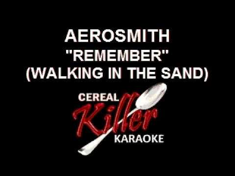 CKK - Aerosmith - Remember (Walking In The Sand) (Karaoke)