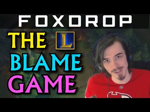 The Blame Game - Tips for Solo Queue (League of Legends)