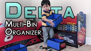 Delta Children Disney/Pixar Cars Multi-Bin Toy Organizer
