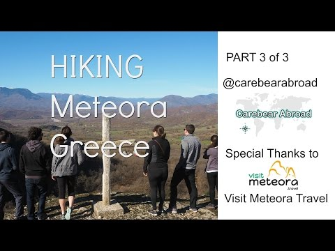 Hiking Meteora Greece Part 3 of 3
