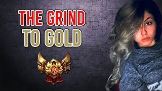 THE GRIND TO GOLD   Nicki Taylor