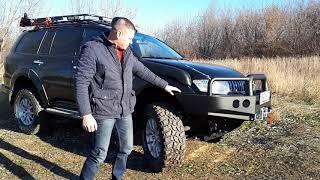 Mitsubishi Pajero Sport для путешествий от Экстрим-Клуб Нижний Новгород. Передача автомобил клиенту.