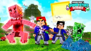 Minecraft DUMB STUFF SCIENCE - WEIRD WIZARDS AND MAGIC SPELLS!!