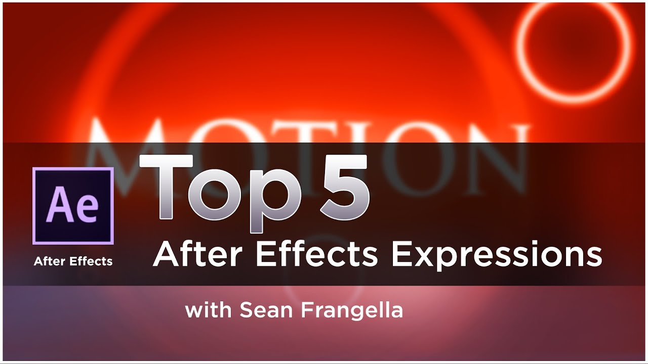 Top 5 After Effects Expressions for Better Designs - The