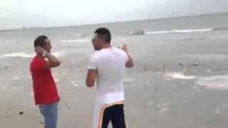 Effetto del marrobbio sulla spiaggia di Tonnarella a Mazara del Vallo 25 giugno 2014
