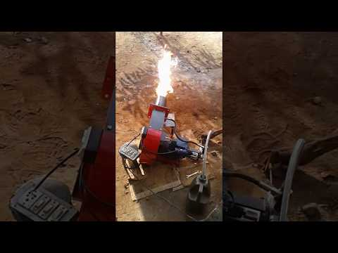 LDO fired burner