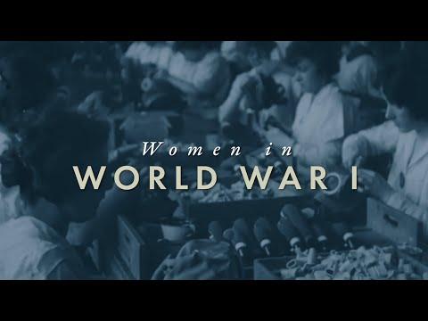 How WWI Changed America: Women in WWI