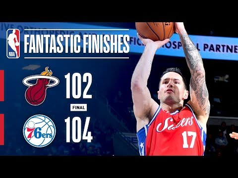 The Heat and 76ers Go Down to the Final Seconds! | February 14, 2018