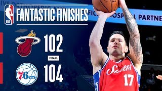 The Heat and 76ers Go Down to the Final Seconds!   February 14, 2018