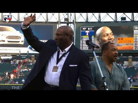 TEX@CWS: Bo Jackson honored at Civil Rights Game