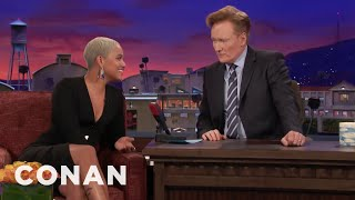"Kiersey Clemons Will Play Iris West In ""The Flash"" Movie  - CONAN on TBS"