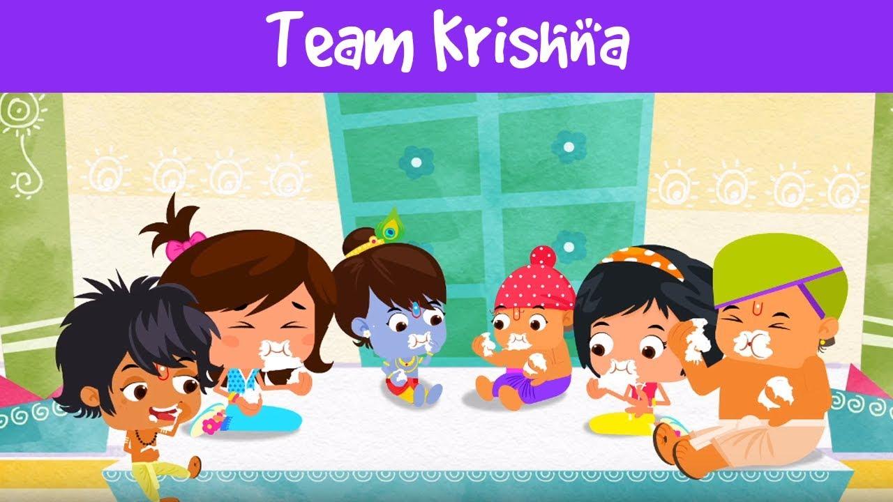 Team Krishna Janmashtami Video For Kids Group Activities For
