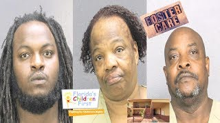 Florida Foster Family Arrested After Child Seen With Beating Marks Over Her Body.