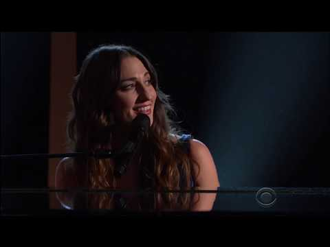 Riveting Performance Sara Bareilles  singing Youve Got a Friend 2015 in HD