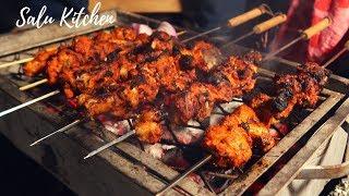 ഇനി വീട്ടിലും ഉണ്ടാക്കാം Tasty Grilled Chicken    Salu Kitchen