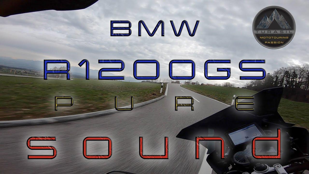 BMW R1200GS Akrapovic Exhaust Sound HQ🎧