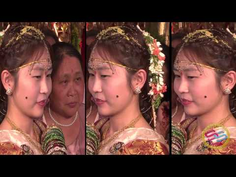 Telangana Guy Married China Girl vamshi krishna weds ming liang   CINEMATIC WEDDING SS ARTS