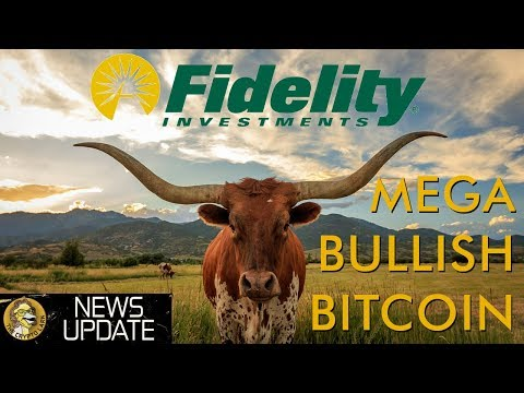 Fidelity Bitcoin Service Goes Live - Bullish For Crypto Long Term Price