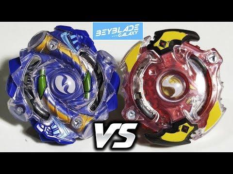 Hyrus H2 .Y.N vs Storm Spryzen .K.U - Beyblade Burst ベイブレードバースト
