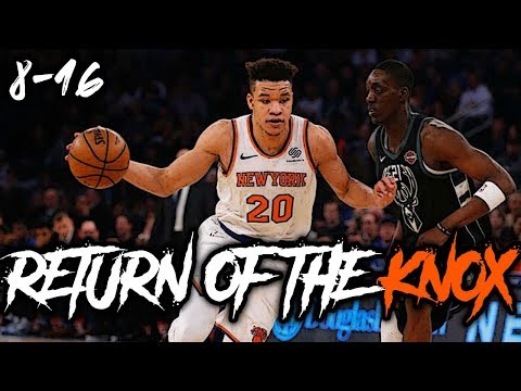 Kevin Knox ERUPTS For 26 Points As Frank Ntilinina Is BENCHED!