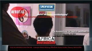 Afrika Kunst Hamburg Africa Medien Hamburg Deutschland Diaspora Black Gegenwartskunst Afro Germans