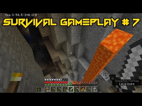 Found dangerous secret areas inside caves/also found lots of gold #SURVIVALDAY7