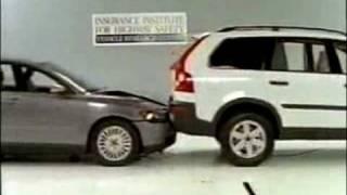 Crash Test: Volvo S40 vs XC90.