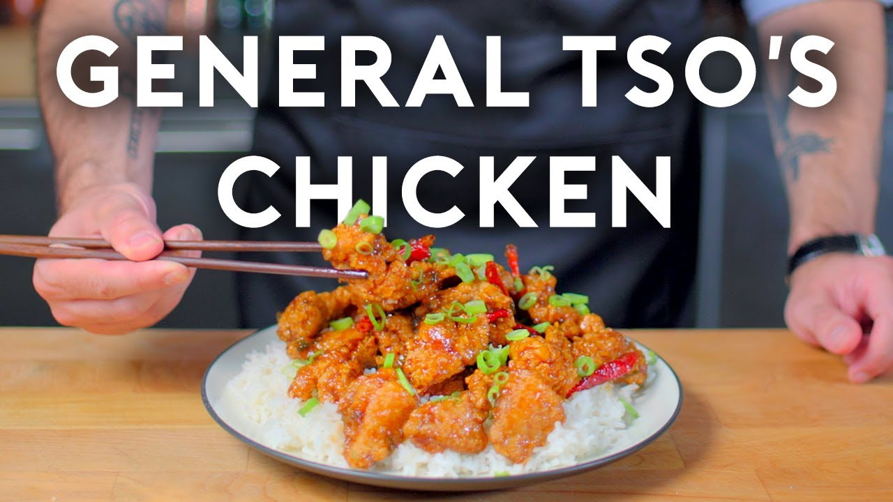 General Tso S Chicken Basics With Babish Youtube