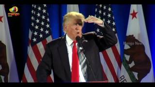 Donald Trump Funny Comments on Bernie Sanders | Rally in San Jose, California | Mango News