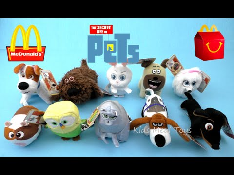 2016 Mcdonalds The Secret Life of Pets POPS #9 no tags