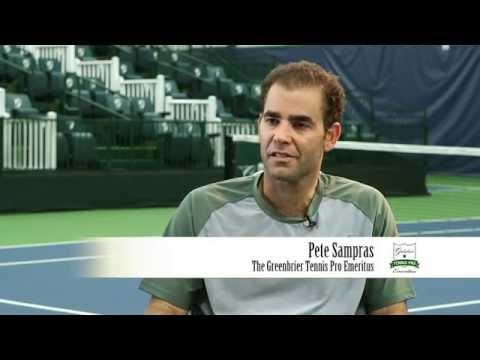 Meet Pete Sampras, The Greenbrier's Tennis Pro Emeritus