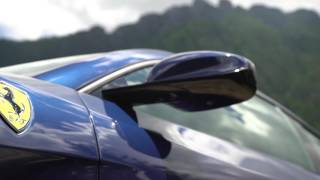 GTC4 Lusso Footage  Blue Car