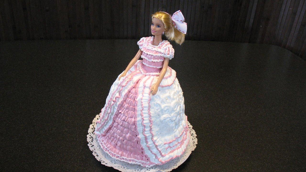 Торт с куклой из крема рецепты с