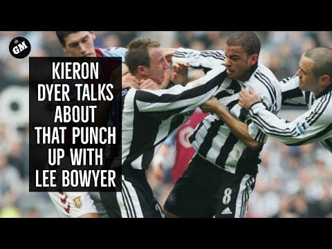 Kieron Dyer talks about that punch up with Lee bowyer