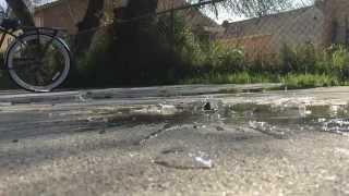 Slow Mo: Glass bottle shatter