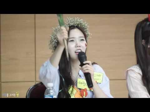 160514 오마이걸(OH MY GIRL) 효정-B612 한소절/대구팬사인회