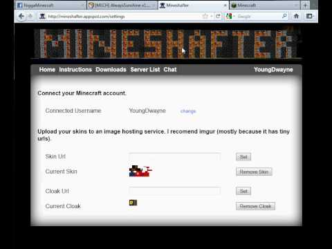 how to download mods for mineshafter