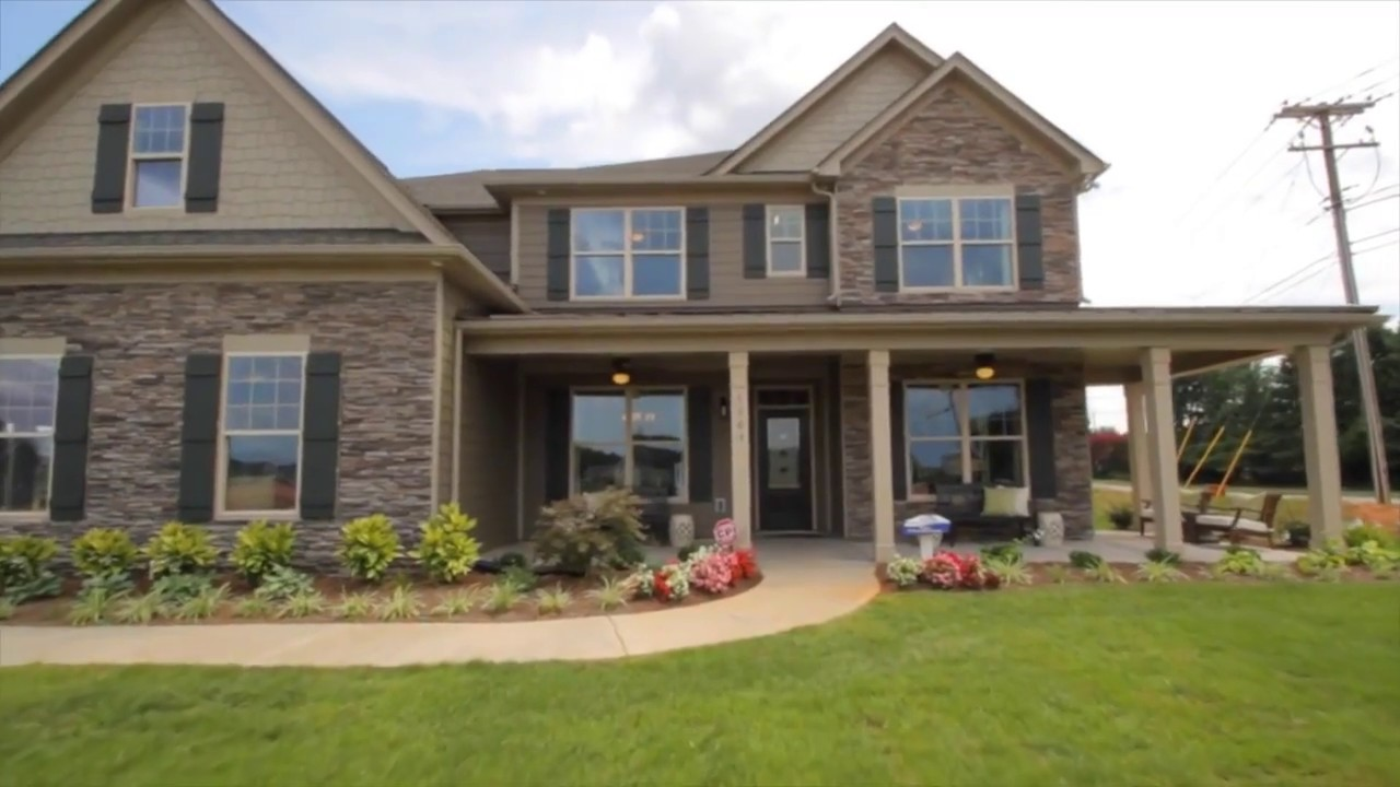 Eastwood Homes- Robinson Oaks Model- The Charleston - YouTube